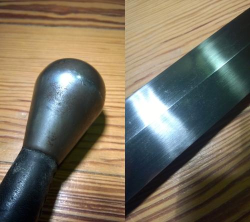 Stahlakademie-Schwertpflege