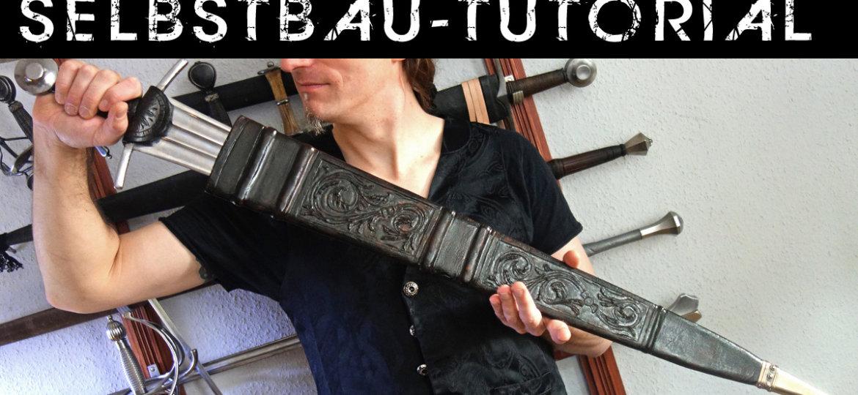 Bauanleitung für eine Schwertscheide